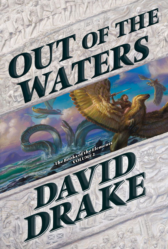 Out Of The Waters By David Drake Thinking About Books border=