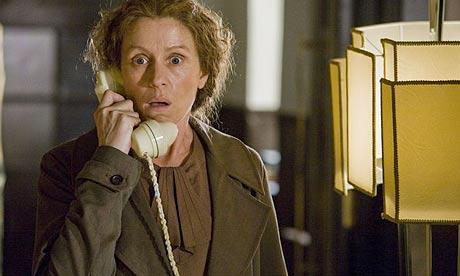 Frances McDormand fending off the real social secretary