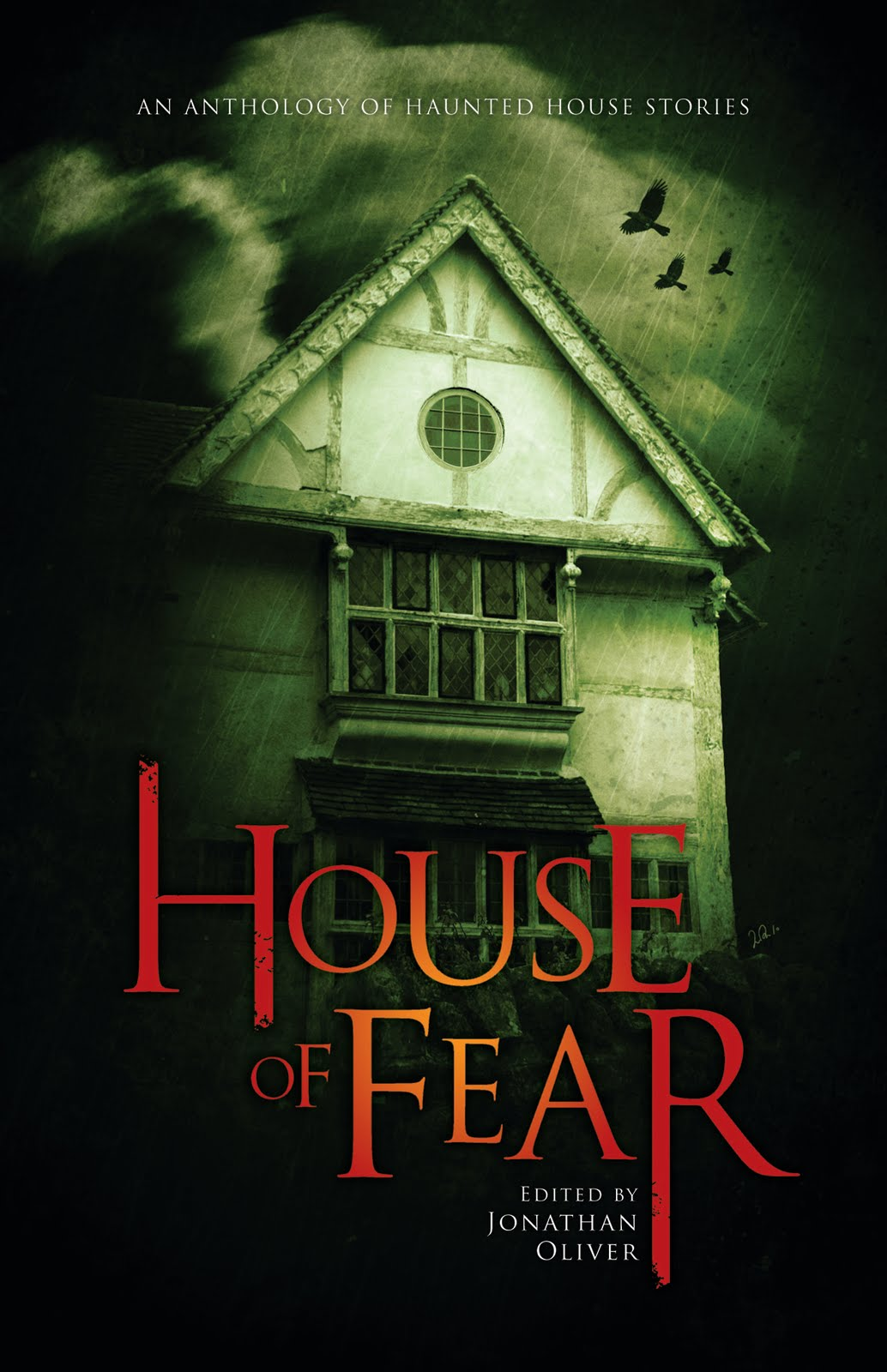House of Fear edited by Jonathan Oliver | Thinking about books