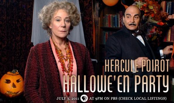 Le crime d'Halloween : Agatha Christie Poirot_halloween-party