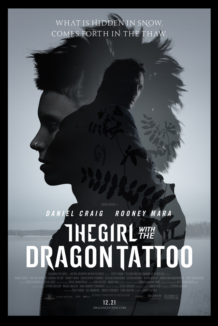 The girl with the dragon tattoo 2011 thinking about books for Cast of girl with the dragon tattoo