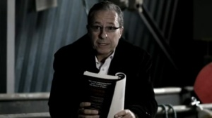 Peter James debates whether folding the book makes it a weapon