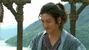 Baek Dong-Soo (Ji Chang-Wook) with a self-satisfied smirk