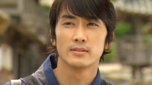 Dr. Jin-Hyuk (Song Seung-Heon) wise beyond his years