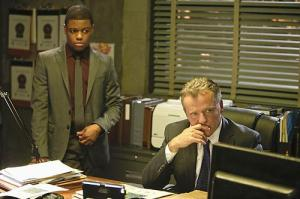 Jon Michael Hill and Aidan Quinn wondering how it will end