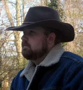 Sam Hawken looking suitably Texan