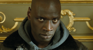 Omar Sy with the chip on his shoulder