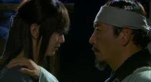 Kim Kwang-Taek (Jeon Kwang-Leol) and Yeo Woon (Yoo Seung-Ho)