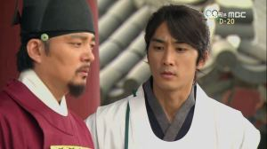 Lee Ha-Weung (Lee Beom-Soo) and Dr Jin (Song Seung-Heon)