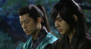 Yeo Woon (Yoo Seung-Ho) and the Japanese sword ace