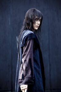 Yeo Woon (Yoo Seung-Ho) looking dangerous when wet