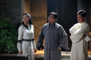 Wei-Ru (Elanne Kong) , Gao Jian-Fu (Liu Kai-Chi) and Pang Da-Wei (Tse Kwan-Ho)