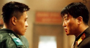 Lee Byung-Hun and Song Kang-Ho facing off