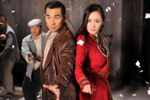 Zhao Wen-Zhou and Mini Yang back-to-back fighting