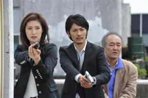 Yuki Amami, Tetsuji Tamayama and Yoichi Nukumizu