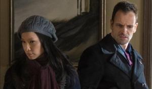 Dr Joan Watson (Lucy Liu) growing closer to Sherlock Holmes (Jonny Lee Miller)