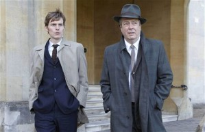 Shaun Evans and Roger Allan set off into battle