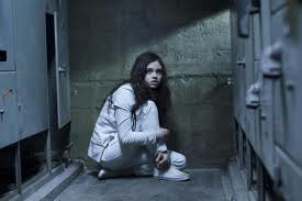 India Eisley not having a good day