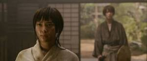 Kaoru Kamiya (Emi Takei) in her dojo