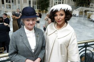 "Julia McKenzie and Joan Collins as ""old friends"""