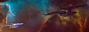 The Enterprise meets USS Vengeance