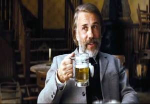 Christoph Waltz anticipates bounty