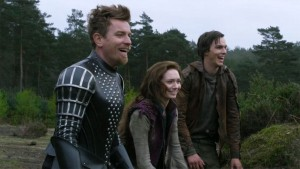 Ewan McGregor, Eleanor Tomlinson and Nicholas Hoult