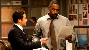 Justin Ripley (Warren Brown) and John Luther (Idris Elba)