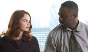 Alice Morgan (Ruth Wilson) and John Luther (Idris Elba)
