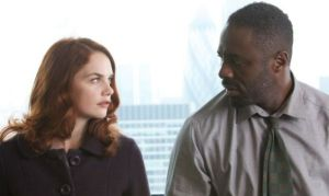 Alice Morgan (Ruth Wilson) and John Luther (Idris Elba)