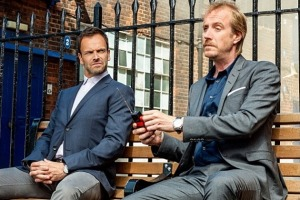 Jonny Lee Miller and Rhys Ifans