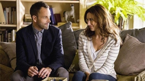 Jonny Lee Miller as Sherlock and  Laura Benanti as Anne Barker