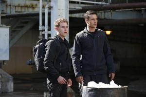 Leo Fitz (Iain De Caestecker) and Grant Ward (Brett Dalton)