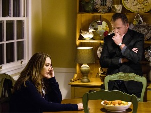 Aidan Quinn and Talia Balsam in an unnatural arrangement