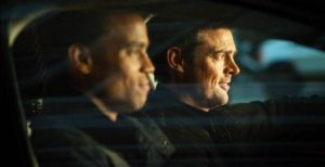 Michael Ealy and Karl Urban driving (or not)