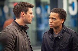 Karl Urban and Michael Ealy: which is the mandroid?