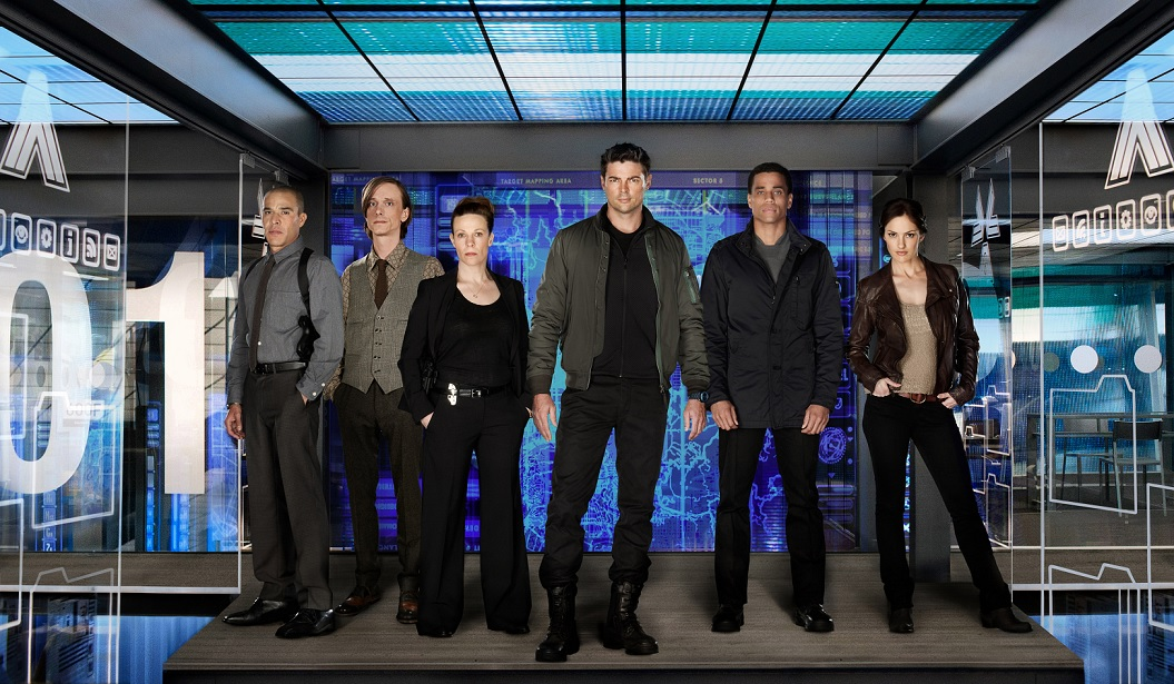 Almost Human: Season 1, episode 9  Unbound (2014) | Thinking about books