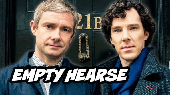Sherlock Season 3, Episode 1. The Empty Hearse (2014)