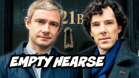 Sherlock Season 3, Episode 1. The Empty Hearse (2014)