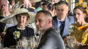 Una Stubbs, Rupert Graves and Louise Brealey