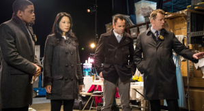 Jon Michael Hill, Lucy Liu, Jonny Lee Miller and Aidan Quinn