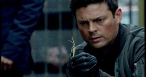 John Kennex (Karl Urban) takes a straw poll