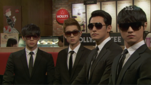 The Men in Black from Joseon when allowed to lose their track suits