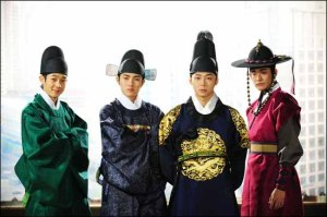 Micky Yoochun and the crew from Joseon