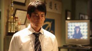 Junichi Ishigami (Toshiaki Karasawa) as the coach