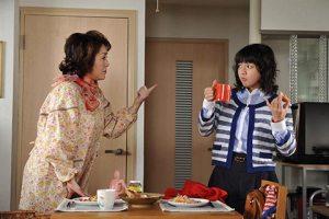 Shinobu Takeuchi (Mikako Tabe) and  Taeko Takeuchi (Keiko Matsuzaka)