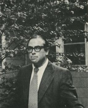 Barry N Malzberg in 1972