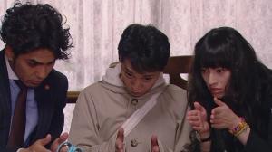 Shunichi Sawa (Kazuki Kitamura), Ataru (Masahiro Nakai), and Maiko Ebina (Chiaki Kuriyama)
