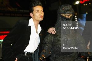 Masahiro Matsuoka, presumably the one on the left