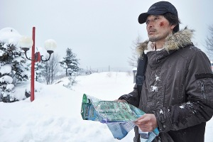 Sang-Hyun (Jung Jae-Young) takes his pursuit into the outdoors